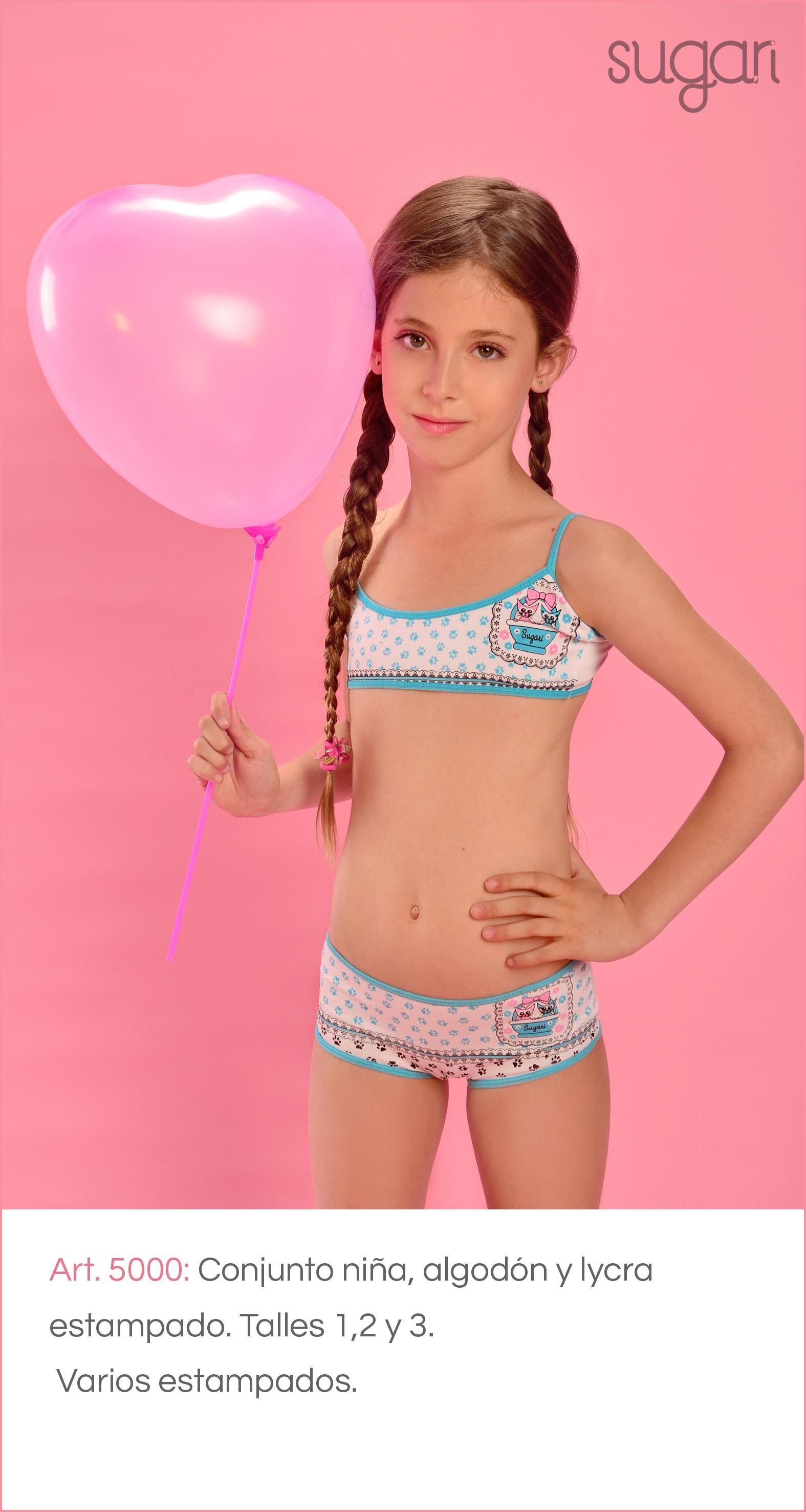 Bikini ropa interior para adolescentes